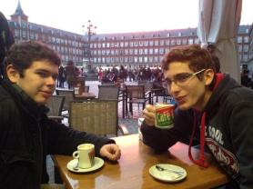 Café con Leche en la Plaza Mayor